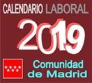 Calendario laboral y Festivos 2019