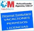 Vacaciones, permisos y licencias actualización agosto 2017